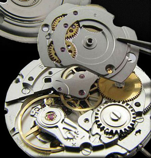 Edmond watch mechanism assembly