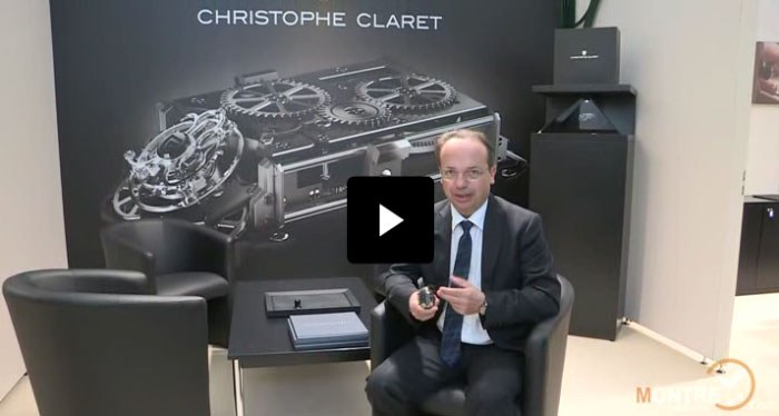 Christophe Claret watches presentation at BaselWorld 2012