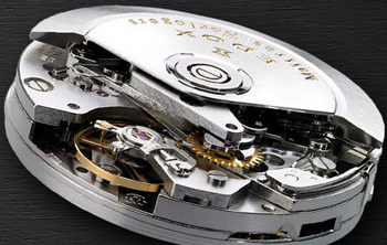 Edox watch mechanism