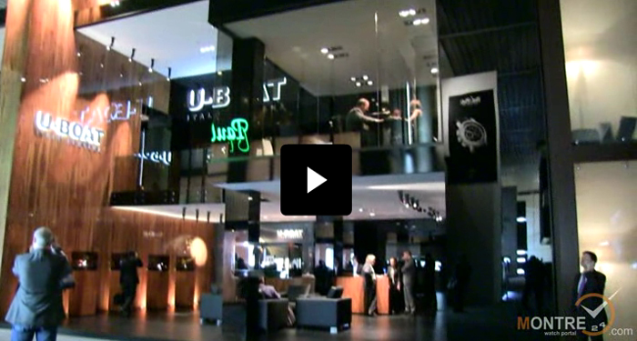 exclusive video of U-Boat with Italo Fontana at BaselWorld 2012