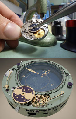 Konstantin Chaykin watch mechanism