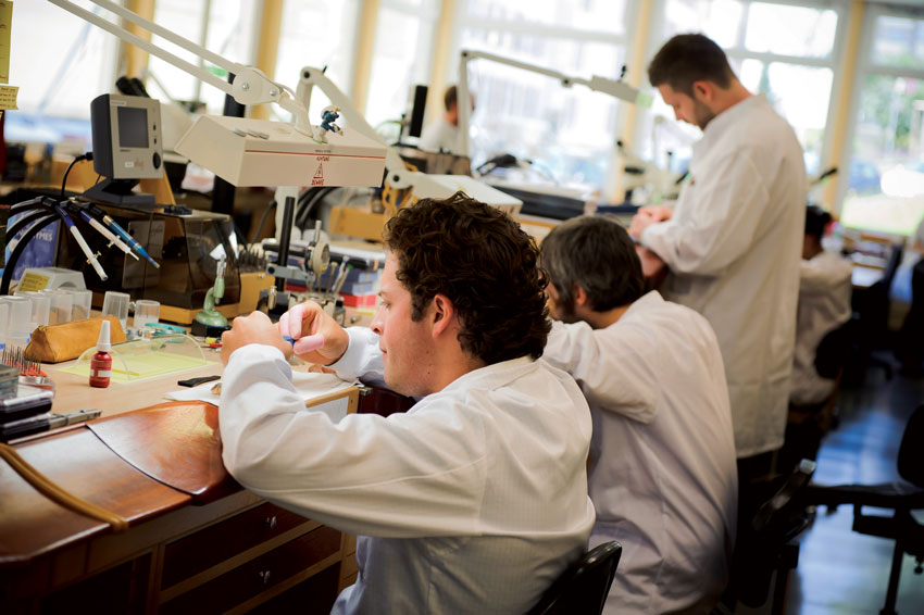 Watchmakers of Girard Perregaux