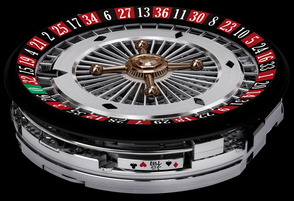 movement of Baccara watches - caliber BCR09