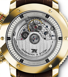 Jaermann & Stubi watch backside
