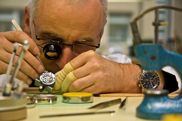 Cimier watch assembly
