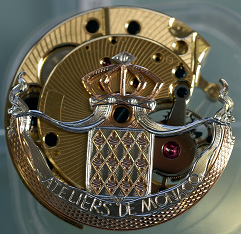 Ateliers deMonaco watch mechanism