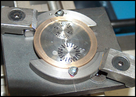 CR-S BETA watch's dial creating