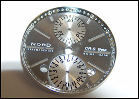 CR-S BETA watch's dial