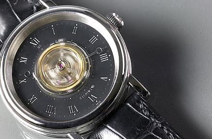 Haldimann watch with tourbillon