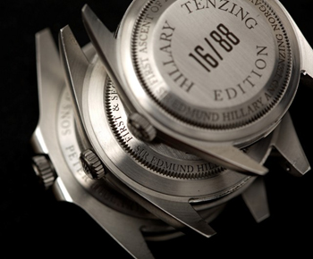 Wristwatches of Rolex for Climbers - Rolex Hillary Tenzing Edition watches