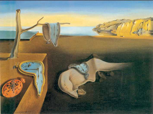"S. Dali. ""The Persistence of Memory"""