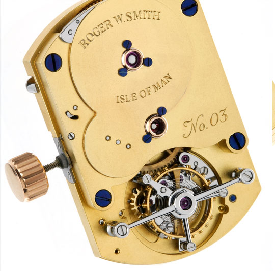 No. 3 tourbillon watch mechanism
