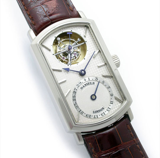 Daniels, London Tourbillon - Made by R.W. Smith