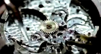 IceLink watch mechanism assembly