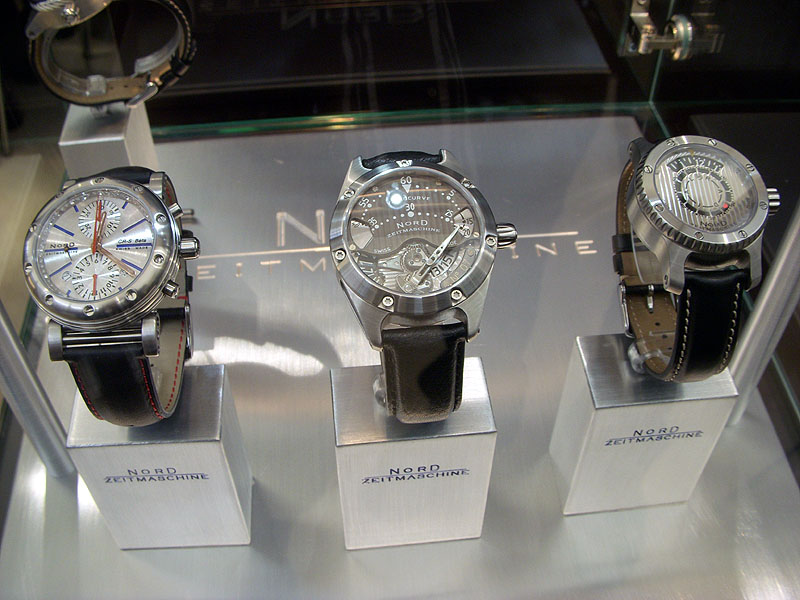 NORD ZEITMASCHINE watches