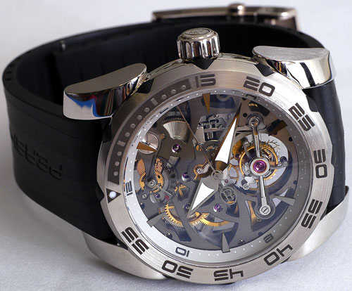 Pershing Openwork Tourbillon Limited Edition Watch by Parmigiani Fleurier