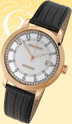 "golden watch ROMANOFF - model ""2824/6442972"""