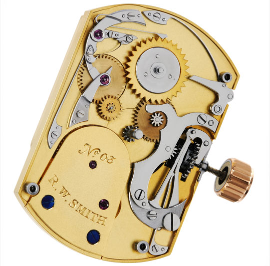 No. 3 Tourbillon mechanism
