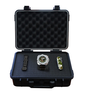 New sports watch RSW Limited edition CAMO Diving Tool box