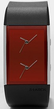 Dual Time Ruby watch