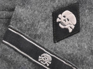 set of 3. SS-Panzer-Division «Totenkopf» officer uniform