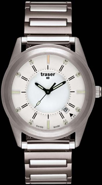 Traser Classic Translucent Silver