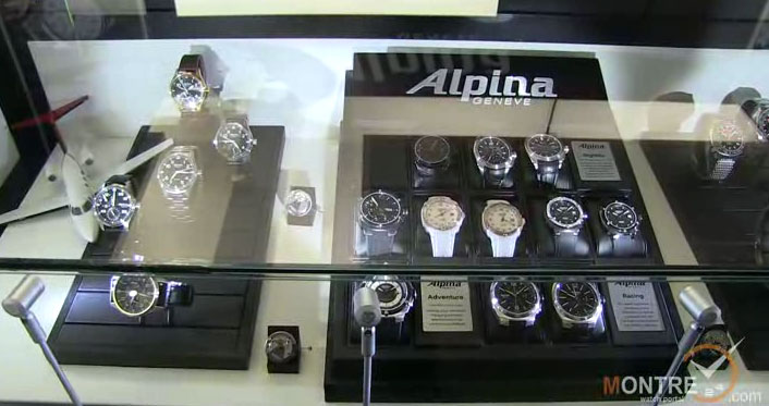 exclusive video of watch models by Alpina at GTE 2012