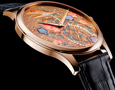 L.U.C XP Urushi Snake watch by Chopard