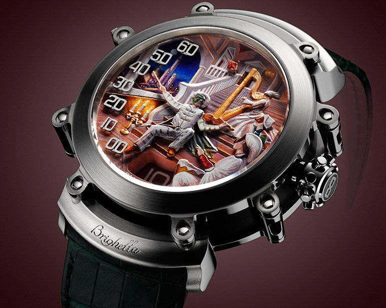 Commedia dell'Arte Timepiece by Bvlgari at BaselWorld 2013