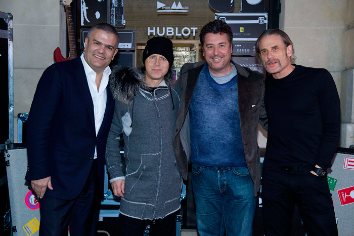 The company Hublot and the British music band Depeche Mode regrouped!