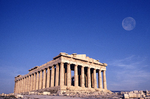 The Parthenon - Acropolis in Athens