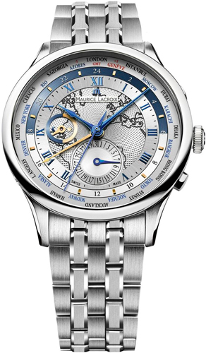Masterpiece Worldtimer watch by Maurice Lacroix