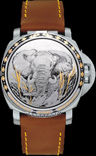 Special Edition 2007 Luminor Sealand for Purdey (ref. PAM00832)