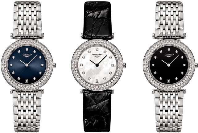 La Grande Classique de Longines 100 Diamonds watches