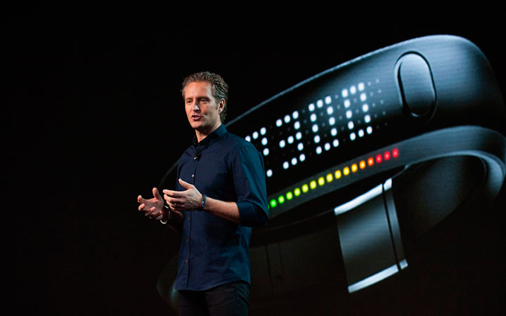 Nike FuelBand watch