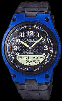 Casio plastic watch