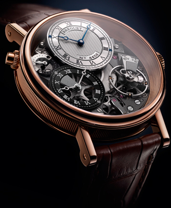 Tradition 7067 GMT watch by Breguet