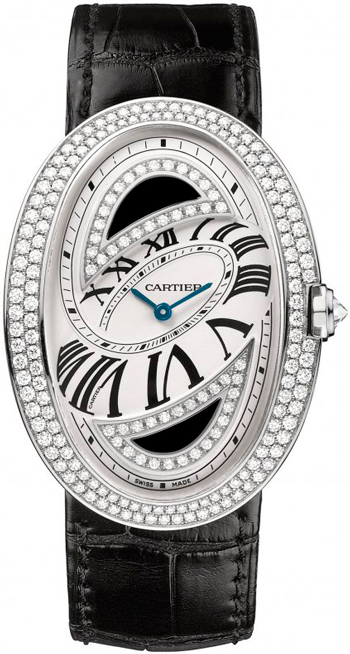 Baignoire Folle watch by Cartier