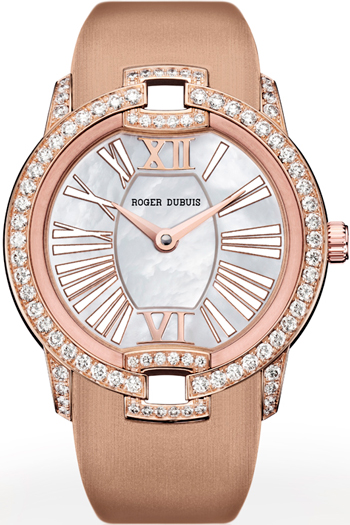 Velvet watch by Roger Dubuis