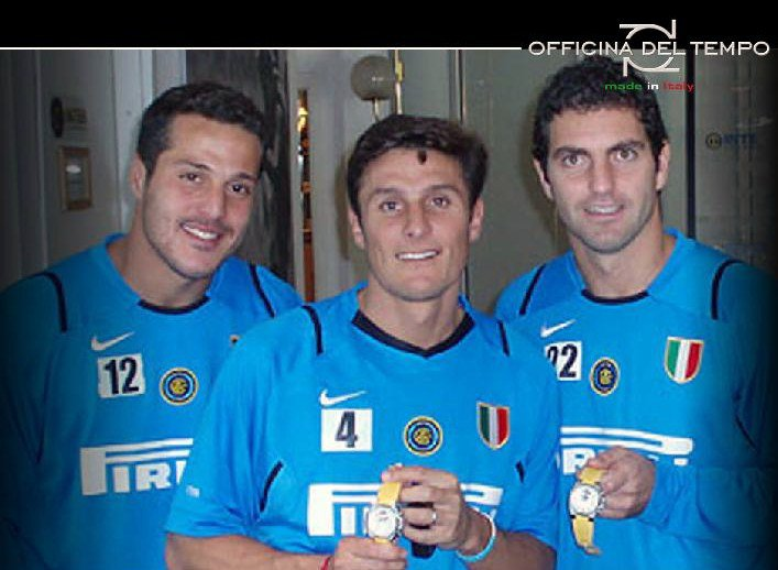 FC Inter prefers Officina del Tempo watch