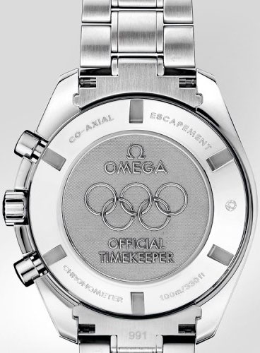 Olympic Timeless watch backside