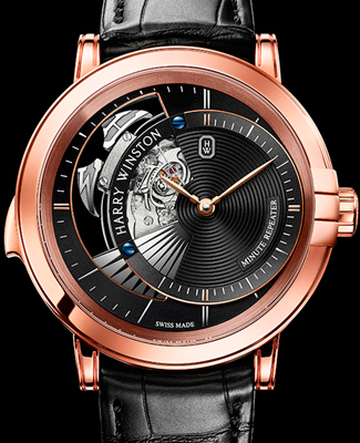 Harry Winston Midnight Minute Repeater (Ref. MIDMMR42RR0003)