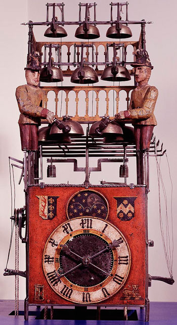 Musical clock-automatons