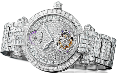Best jewelry and fine watches: Chopard - Imperiale Tourbillon Full Set