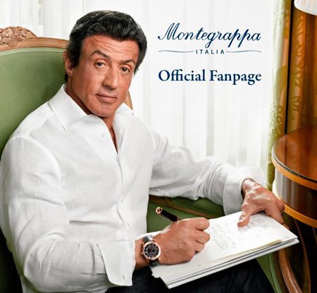 The most frequent motif in the work of Sylvester Stallone is watch