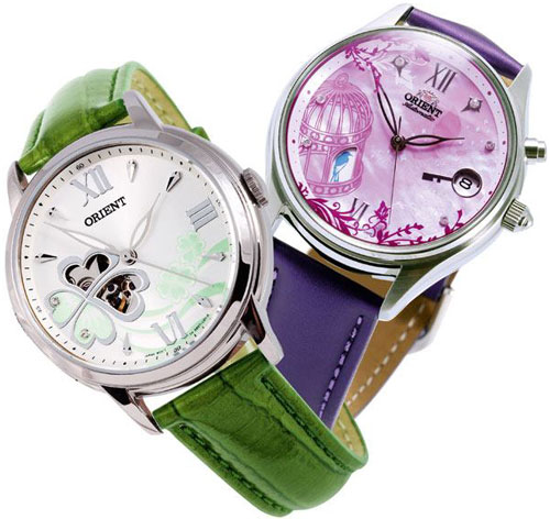 Special Premium Gift: Orient Orient Clover and Orient Blue Bird watches
