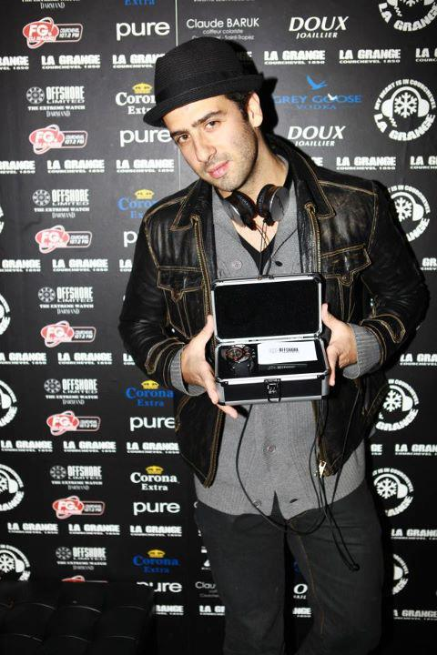 Dj Sub-Zero with Offshore Limited watch