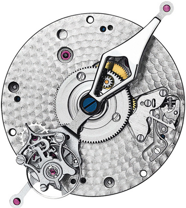 movement of Piaget Polo Tourbillon Relatif watch