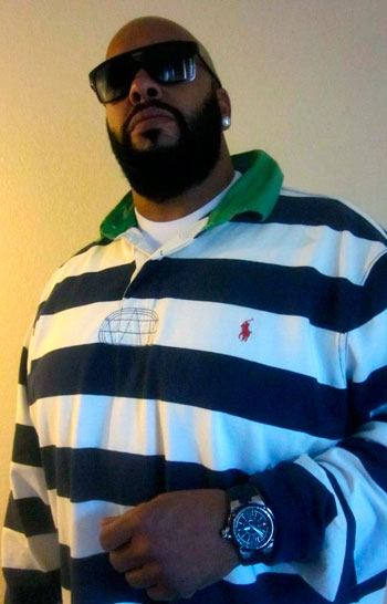 Suge Knight with his Officina del Tempo watch