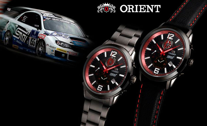 Orient STI Limited Edition watches
